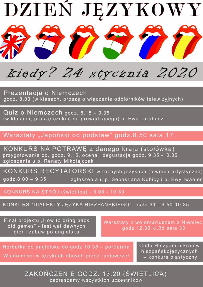 dzień językowy w ZSK